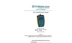 Sampling Portable Data Logger (CO2) - Manual