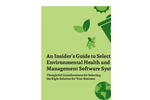 Sustainability Management Software Brochure