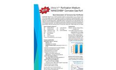 NANOCHEM - Metal-X Purification Media for Corrosive Gases Brochure