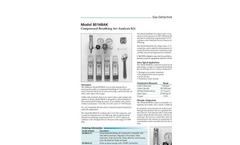 Model 8014BAK - Compressed Breathing Air Analysis Kit Brochure