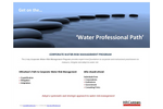 Water Professional Path Brochure