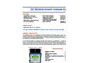 QC Bacteria Growth Analysis System Brochure