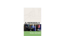 Aerosolv 7000/7000XL Manual