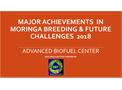 Major Achievements in Moringa Breeding & Future Challenges