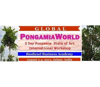 Global PongamiaWorld 2013