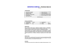 Micropan Complex Brochure