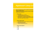 RightAnswer Library Content Brochure