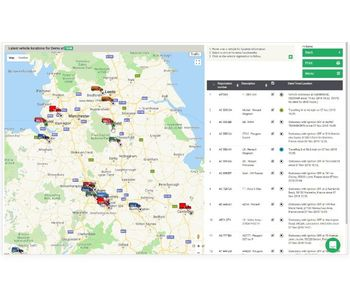 Quartix - Real-Time Vehicle Live Tracking Software