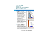 CRATER - Compton Ratio Analysis for Testing Environmental Radioactivity Datasheet