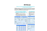 RETSCode - Microsoft Windows PC-Based Software Datasheet