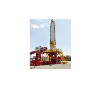 Model T250XD - Trailer Mounted Drilling Rig