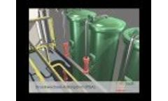 Carbotech - pressure swing adsorption for processing biogas to biomethane - Video