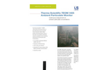 Teom - Model 1405 - Continuous Ambient Particulate Monitor Brochure