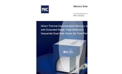 LSA - Model MA-3000 - Mercury Analyzer Brochure