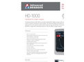 Advanced Sensors HD-1000 Handheld Oil in Water Analyzer - Datasheet