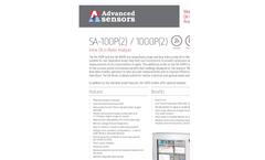 Advanced Sensors SA-100P(2) / 1000P(2) Inline Oil in Water Analyzer - Datasheet