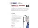 Advanced Sensors EX-100P(2) / 1000P(2) InLine Oil in Water Analyzer - Datasheet