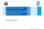 SS181B Produced Water System Oilin- Water Monitors – Advanced Sensor Model EX-1000 - Brochure