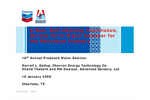 A New, Self-Cleaning, Continuous, On-line Oil-in-Water Analyzer for the Petroleum Industry -  Technical Presentation