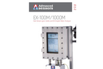 Advanced Sensors EX-100M / 1000M Side Stream Analyzer - Datasheet
