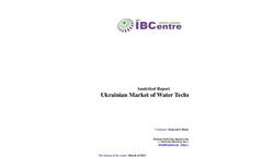 Ukrainian Market of Water Technologies 2013 (analytical report)