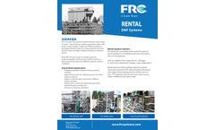 FRC - Pilot & Rental DAF Units - Brochure