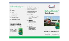 BioTherm - Waste Digester Eliminator Brochure