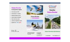 LubeCorp - Gasoline Octane Booster Brochure