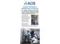 Biolargo - Advanced Oxidation System (AOS) Brochure