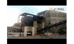 Our NEW 100TPH Granite Crushing plant in Mozambique Video