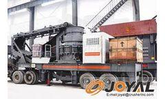 Joyal - Model Y3S - Mobile Cone Crushing Plant