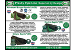 Introducing our Presby Pipeline Brochure