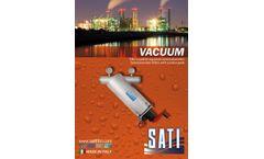 Sati - Vacuum Semi-Automatic Self Cleaning Screen Filters - Brochure