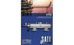 Sati - Model VTO - Self Cleaning Screen Filters - Brochure