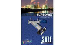Sati Turbonet - Self-Cleaning Screen Filters - Brochure