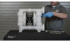 All-Flo A100 Plastic Pump: Repair and Assembly of Wet End - Video