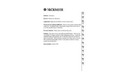 Model V-Cone - Differential Pressure Flow Meter Brochure