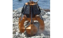 Stemm - Model PH-3,5 - Electro-Hydraulic Orange Peel Grabs