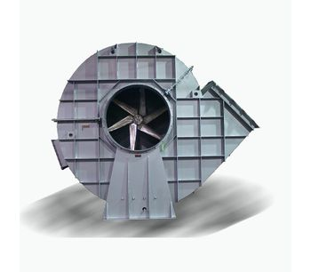 Model RF2 - Radial Blade High Temperature Fan