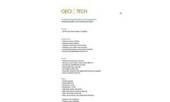 GEORIG 504 Data Sheet