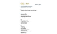 GEORIG 607 Data Sheet
