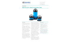 BlueComm - Model 200 - Wireless Underwater Video and Vehicle Control Instrument Brochure