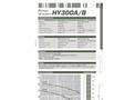 Dragflow HY300A/B Hydraulic Submersible Agitator Pump Datasheet