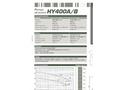 Dragflow HY400A/B Hydraulic Submersible Agitator Pump Datasheet