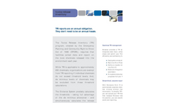 Toxics Release Inventory Brochure (PDF 41 KB)