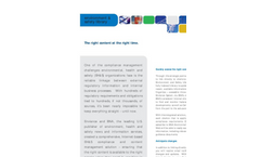 Environment & Safety Library (BNA) Brochure (PDF 50 KB)