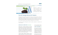 GHG Management and Carbon Management Datasheet