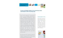 Enviance Enterprise Carbon Accounting Data