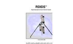 RDIDS - Series 4000 - Rapid Deployable Intrusion Detection System Brochure