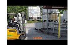 EW1000/AX - Automated washing line for IBCs by C.E.B. Impianti Video